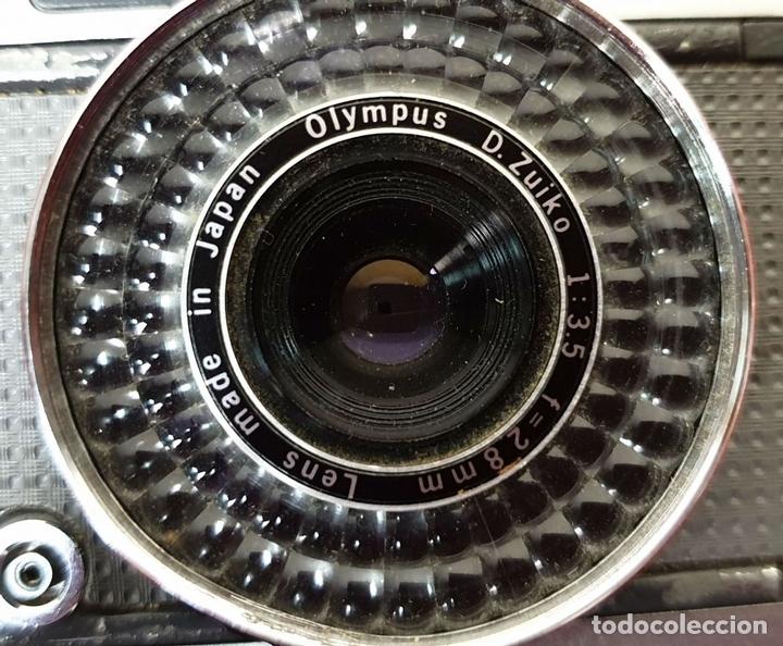 Cámara de fotos: CAMARA FOTOGRAFICA OLYMPUS PEN. EE-2. JAPÓN CIRCA. OLYMMPUS D. ZUIKO. 1970. - Foto 3 - 168445052
