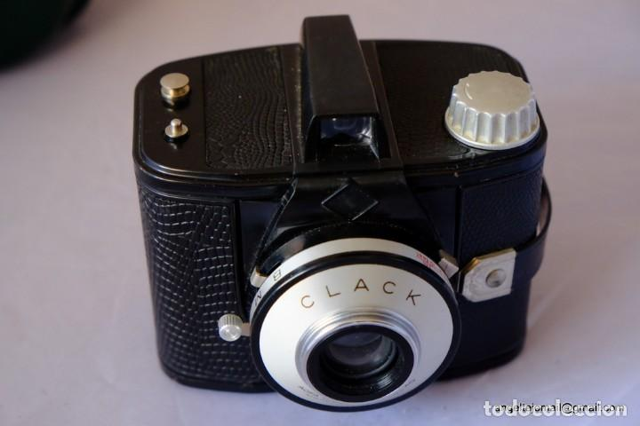 Cámara de fotos: AGFA CLACK CAMERA '1954-60' 6X9CM 120 ROLL FILM - Foto 2 - 169425676
