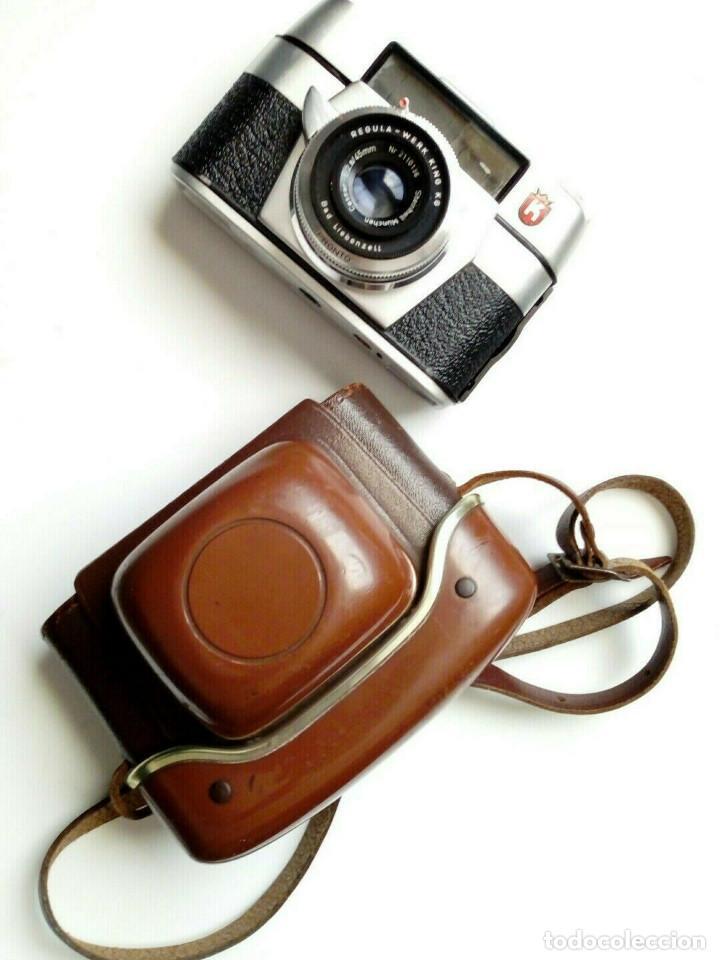 (1958) CÁMARA KING REGULA L (45 MM, 1:2.8) VINTAGE LOMOGRAPHY STREET PHOTOGRAPHY (Cámaras Fotográficas - Clásicas (no réflex))