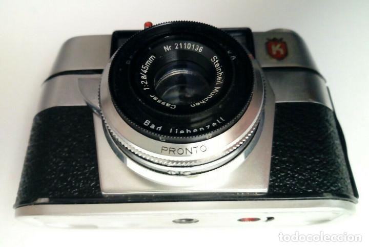 Cámara de fotos: (1958) Cámara KING REGULA L (45 mm, 1:2.8) Vintage Lomography Street Photography - Foto 4 - 169723956