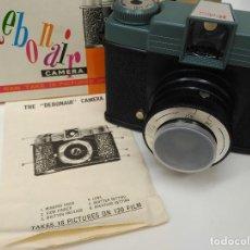 Cámara de fotos: ANTIGUA CAMARA DEBONAIR 808 - EN SU CAJA CON INSTRUCCIONES - PERFECTO ESTADO. Lote 169884632