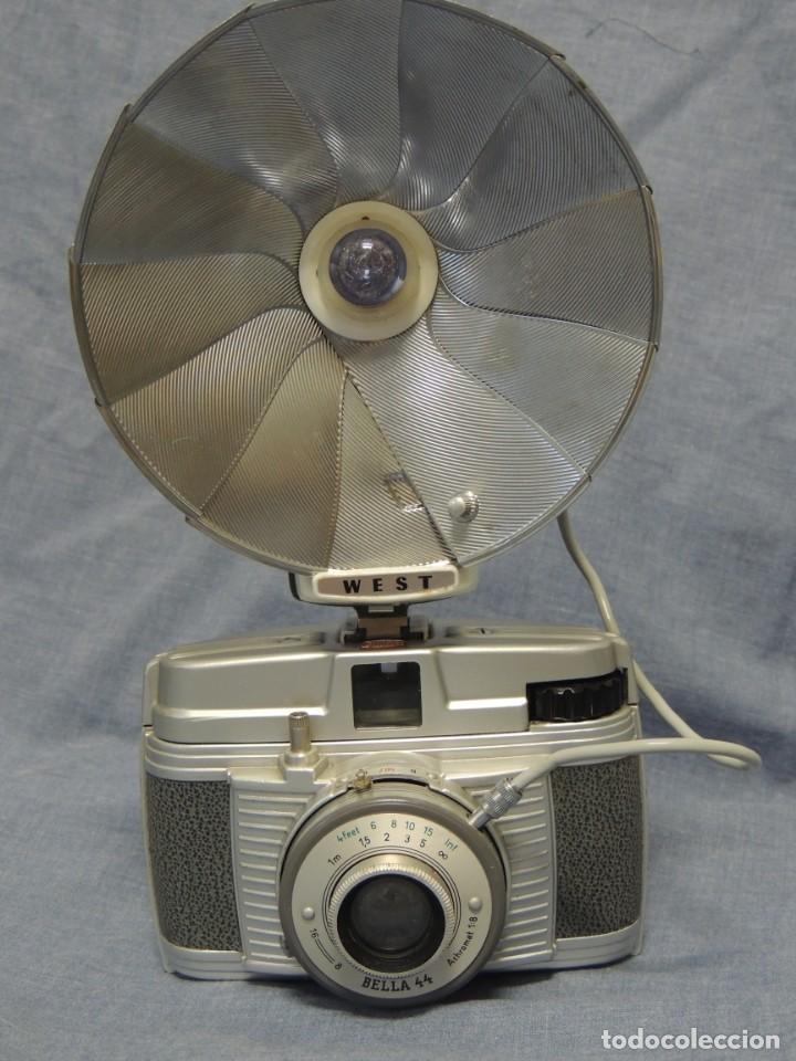 BELLA 44 CON FLASH WEST (Cámaras Fotográficas - Clásicas (no réflex))