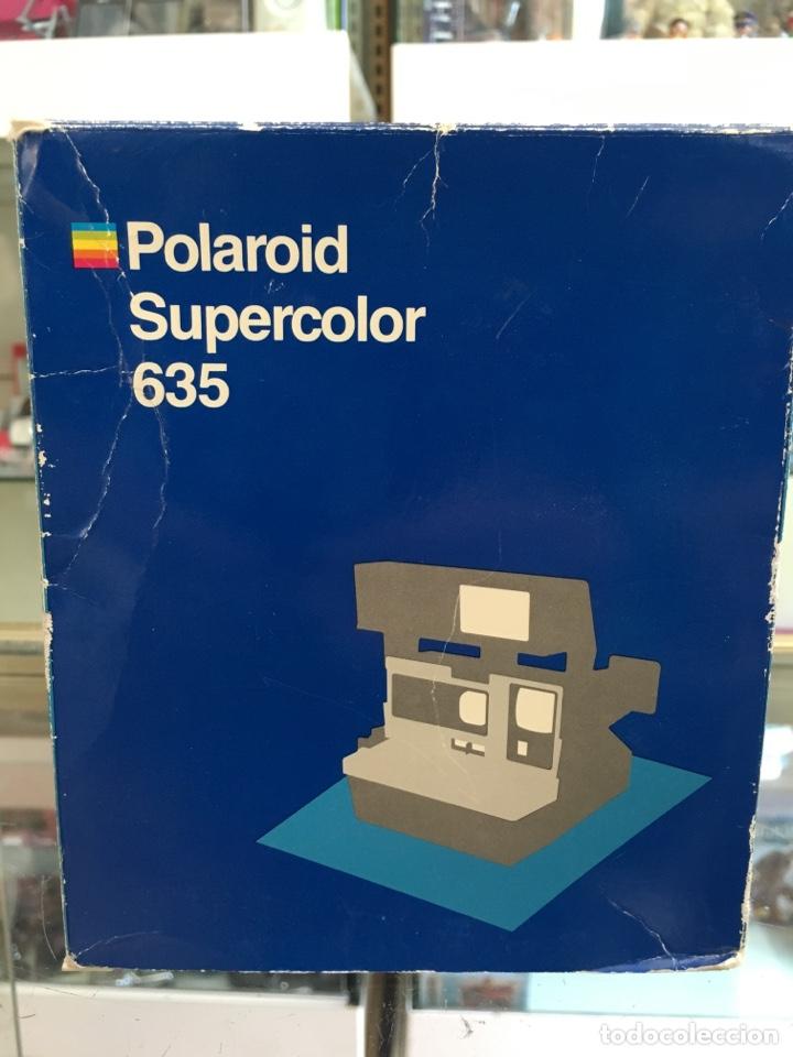 POLAROID SUPERCOLOR 635 CON CAJA ORIGINAL Y DOCUMENTACION (Cámaras Fotográficas - Clásicas (no réflex))
