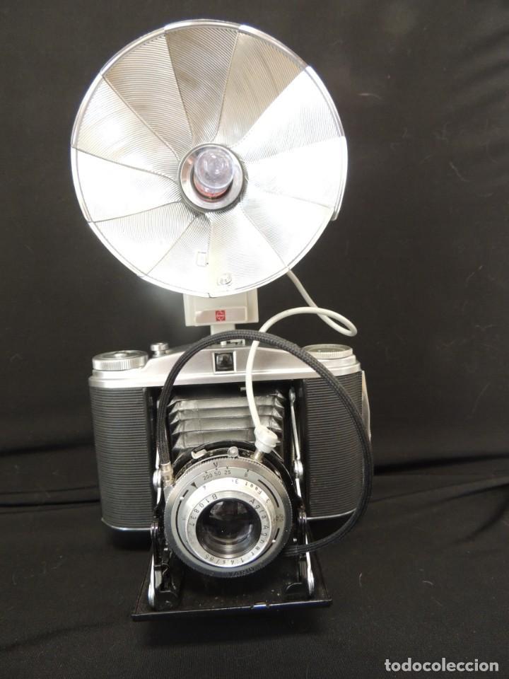 Cámara de fotos: ISOLETTE II CON FLASH Y FUNDA ORIGINAL - Foto 13 - 171540779