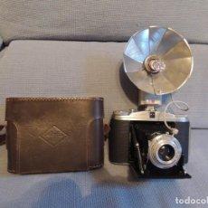 Cámara de fotos: ISOLETTE II CON FLASH Y FUNDA ORIGINAL. Lote 171540779