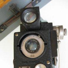 Cámara de fotos: CAMARA FOTOS AERONAUTICA - GUERRA FRIA 1956 - MALETA ORIGINAL. Lote 171676027