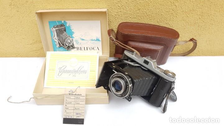 ESTUCHE WELTA BELFOCA II DE 1958 (Cámaras Fotográficas - Clásicas (no réflex))