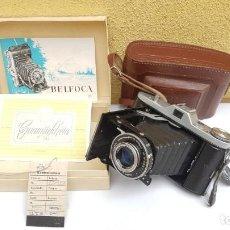 Cámara de fotos: ESTUCHE WELTA BELFOCA II DE 1958. Lote 172071925