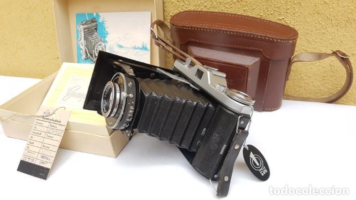 Cámara de fotos: Estuche Welta Belfoca II de 1958 - Foto 3 - 172071925