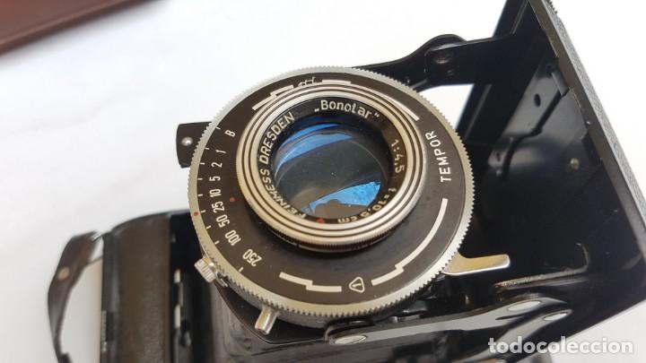 Cámara de fotos: Estuche Welta Belfoca II de 1958 - Foto 7 - 172071925