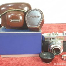 Cámara de fotos: CÁMARA FOTOGRÁFICA. VOIGTLANDER VITOMATIC. FUNDA Y CAJA ORIGINAL. CIRCA 1960. . Lote 172757099