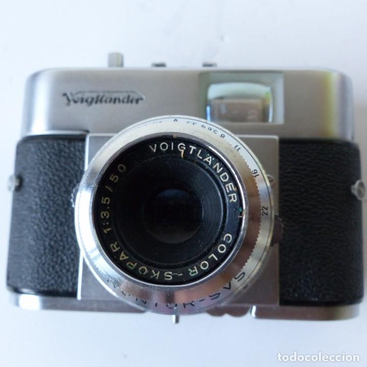 Cámara de fotos: Cámara VOIGTLANDER VITO B con su funda de ceuro original.Objetivo color Skopar 1:3,5 50 mm. - Foto 8 - 172893843