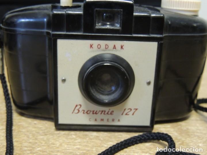 Cámara de fotos: kodak brownnie 127 de baquelita Funciona - Foto 2 - 172903553