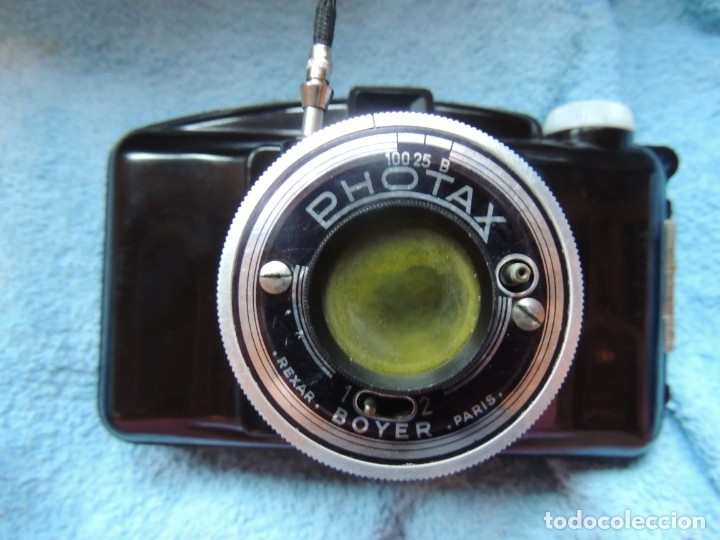 PHOTAX REXAR BOYER PARIS FUNDA, FILTRO Y DISPARADOR (Cámaras Fotográficas - Clásicas (no réflex))