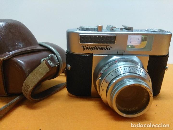 VOIGTLANDER VITO BL CON FUNDA (Cámaras Fotográficas - Clásicas (no réflex))