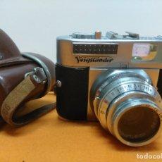 Cámara de fotos: VOIGTLANDER VITO BL CON FUNDA. Lote 173203735