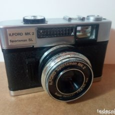 Cámara de fotos: ANTIGUA CAMARA FOTOGRAFICA. ILFORD MK 2. MADE IN W. GERMANY.. Lote 173532659