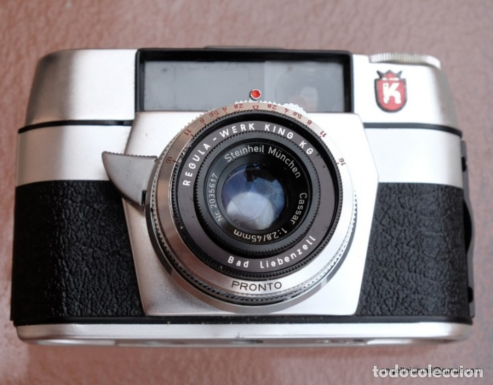 Cámara de fotos: Regula L tipo Leica.Made in Germany. - Foto 3 - 174242463