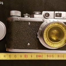 Cámara de fotos: ANTIGUA CAMARA FOTOGRAFICA RUSA ZOPKUU 242736 EN BUEN ESTADO.VER DETALLES Y FOTOGRAFIAS.. Lote 174476047