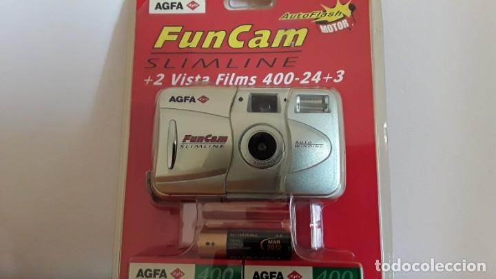 Cámara de fotos: Cámara analógica Agfa Fun Cam, blíster - Foto 3 - 174498493