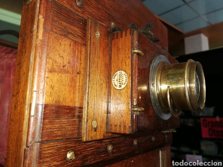 Cámara de fotos: CÁMARA DE MADERA DE FUELLE - Foto 6 - 175207678