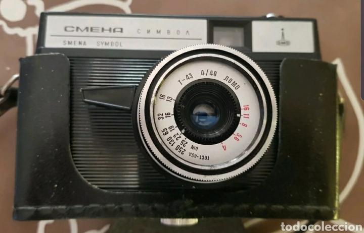 Cámara de fotos: Smena Symbol 35mm - Soviet camera russian - Foto 2 - 175330823