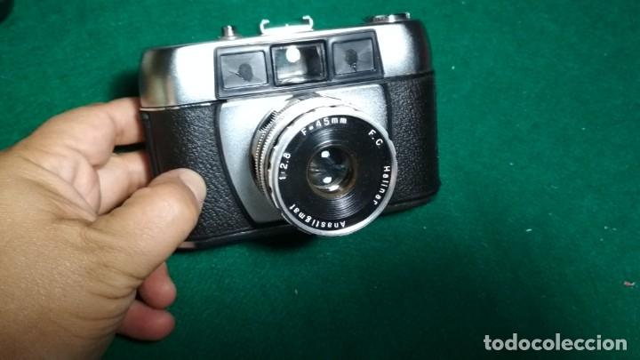CAMARA FOTOGRAFICA HALINA PAULETTE HALINAR ANASTIGMAT 1:2.8 F=45 MM VER FOTOS (Cámaras Fotográficas - Clásicas (no réflex))