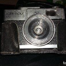 Cámara de fotos: AGFA ISOLY 100 CON FUNDA ORIGINAL. Lote 175622600