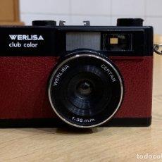Cámara de fotos: WERLISA CLUB COLOR GRANATE FABRICADA EN ESPAÑA. Lote 175789460