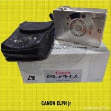 Cámara de fotos: CAMARA CANON ELPH JR DE MUY POCO USO ** BATERIA INCLUIDA **. Lote 175859254
