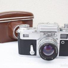 Cámara de fotos: CLÁSICA CÁMARA TELEMÉTRICA DE COLECCIÓN - KIEV 4 - AÑO 1963 - CON FUNDA. Lote 175904777