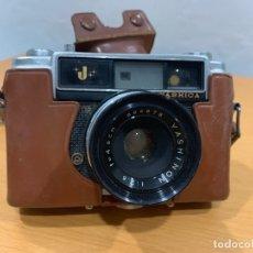 Cámara de fotos: YASHICA J CAMARA FOTOGRAFICA. Lote 176065892