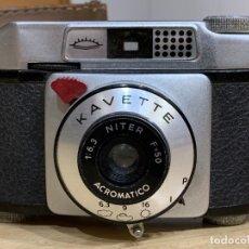 Cámara de fotos: KAVETTE CÁMARA FABRICADA EN ESPAÑA. Lote 176109280