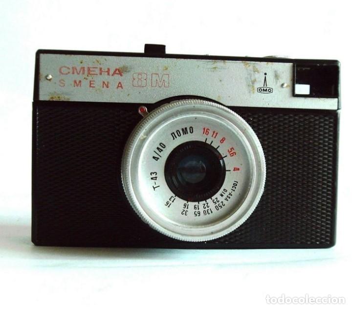 VINTAGE RUSO URSS 35MM CÁMARA DE CINE SMENA 8 M (Cámaras Fotográficas - Clásicas (no réflex))