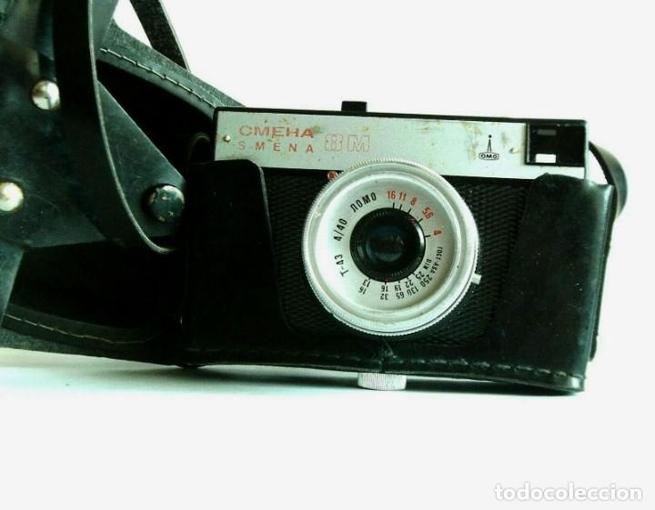 Cámara de fotos: Vintage ruso URSS 35mm Cámara de cine SMENA 8 M - Foto 8 - 176169219