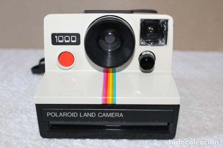 Cámara de fotos: CAMARA POLAROID 1000 - FLASH POLATRONIC 1 - INSTRUCCIONES - BOLSA - Foto 3 - 176192363