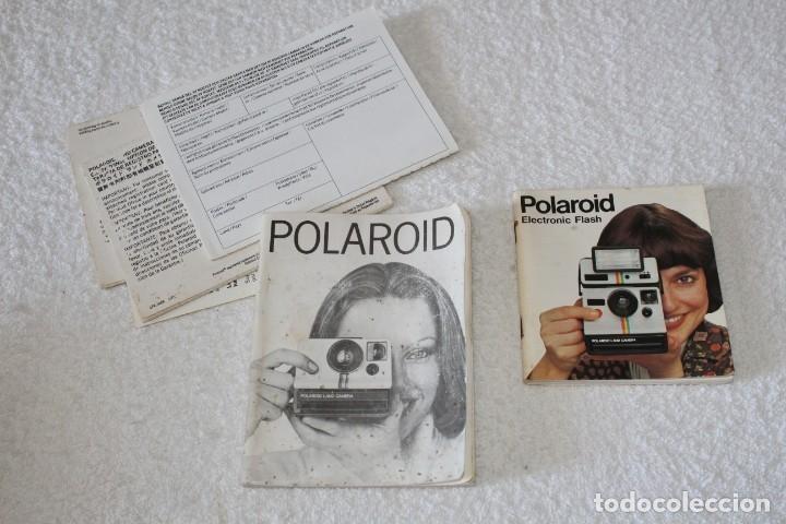 Cámara de fotos: CAMARA POLAROID 1000 - FLASH POLATRONIC 1 - INSTRUCCIONES - BOLSA - Foto 15 - 176192363