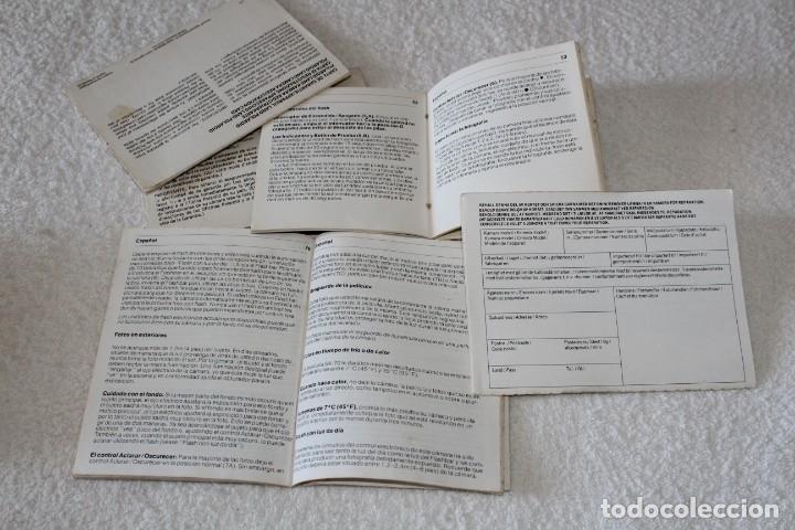 Cámara de fotos: CAMARA POLAROID 1000 - FLASH POLATRONIC 1 - INSTRUCCIONES - BOLSA - Foto 16 - 176192363