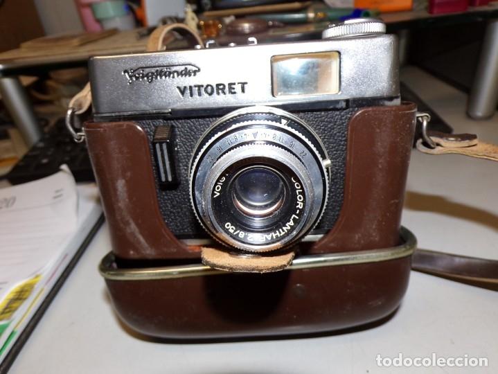 CAMARA VOIGTLÄNDER VITORET PRONTROR 125 (Cámaras Fotográficas - Clásicas (no réflex))