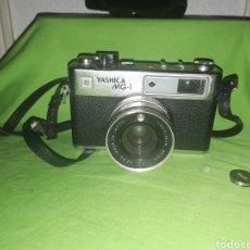 Cámara de fotos: CAMARA YASHICA MG - 1 CON FUNDA ORIGINAL. Lote 176515990