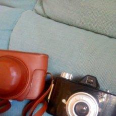 Cámara de fotos: AGFA CLICK I CON FUNDA FUNCIONA BUEN ESTADO. Lote 176628144