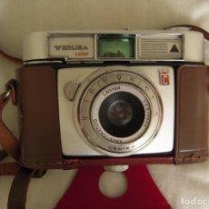 Cámara de fotos: CAMARA FOTOGRAFICA WERLISA COLOR DE 1966 CON FUNDA ORIGINAL. Lote 177415097