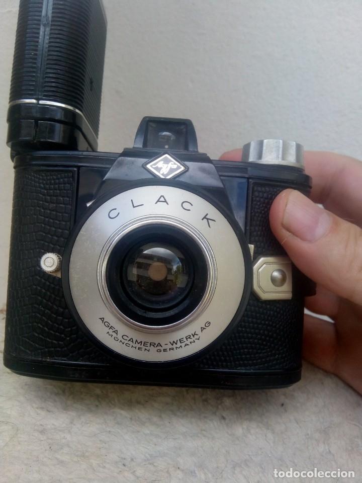 Cámara de fotos: Agfa Clack con su flash - Foto 2 - 177885408