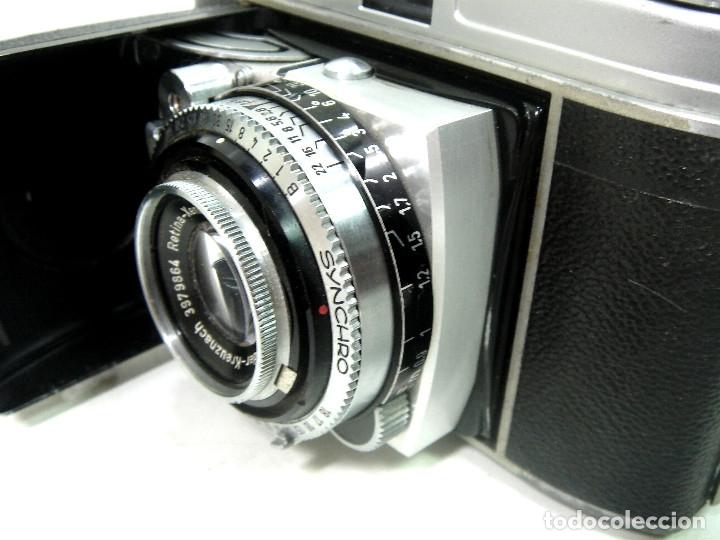 Cámara de fotos: KODAK RETINA IB- CAMARA FOTOS 35MM 1954/57 -OBJETIVO 50 MM F72.8 - FOTOGRAFICA DE 35 - Foto 3 - 178053440