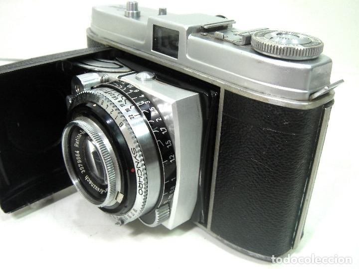 Cámara de fotos: KODAK RETINA IB- CAMARA FOTOS 35MM 1954/57 -OBJETIVO 50 MM F72.8 - FOTOGRAFICA DE 35 - Foto 4 - 178053440