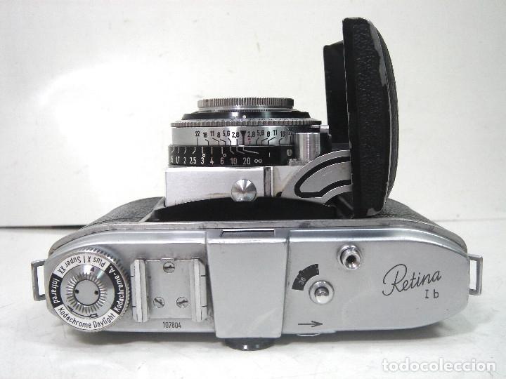 Cámara de fotos: KODAK RETINA IB- CAMARA FOTOS 35MM 1954/57 -OBJETIVO 50 MM F72.8 - FOTOGRAFICA DE 35 - Foto 7 - 178053440