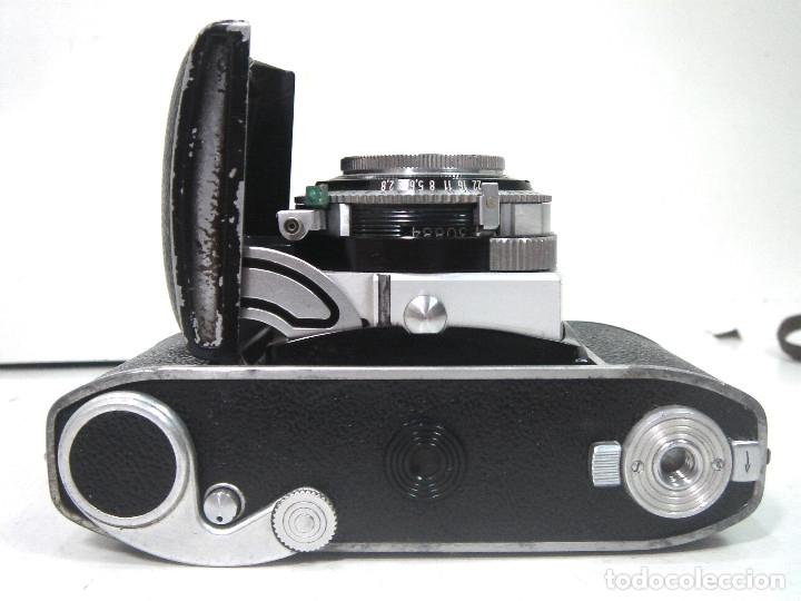 Cámara de fotos: KODAK RETINA IB- CAMARA FOTOS 35MM 1954/57 -OBJETIVO 50 MM F72.8 - FOTOGRAFICA DE 35 - Foto 8 - 178053440