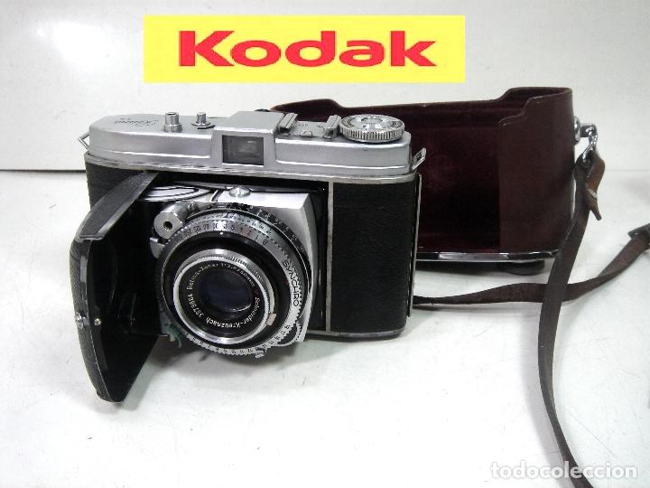 KODAK RETINA IB- CAMARA FOTOS 35MM 1954/57 -OBJETIVO 50 MM F72.8 - FOTOGRAFICA DE 35 (Cámaras Fotográficas - Clásicas (no réflex))