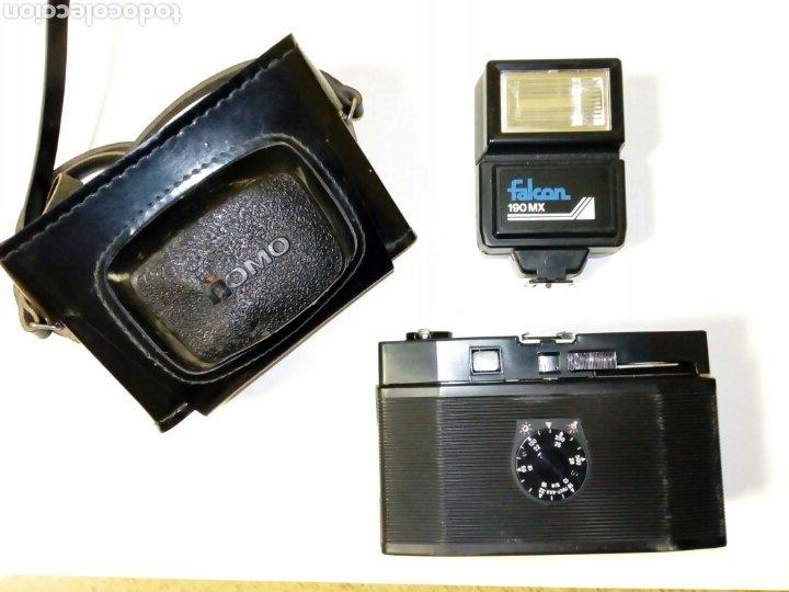 Cámara de fotos: LOMO COSMIC SYMBOL + Flash FALCON 190MX - Auténtica cámara Lomográfica fabricada en la URSS CCCP - Foto 7 - 178737941