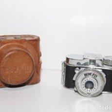 Cámara de fotos: CAMARA MYCRO UNA 1:4.5 F = 20 MM COMPANY LTD - AÑO 50. Lote 179541465